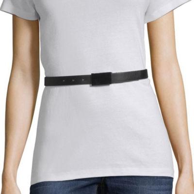 Liz Claiborne Plaque Reversible Belt