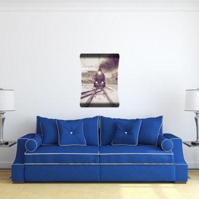 Metal Wall Art Home Decor Mind the Gap 36x24 HD Curve