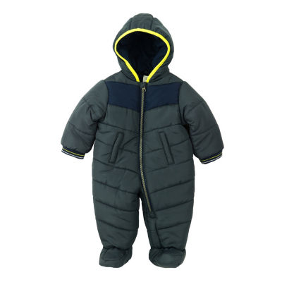 Carter's Boys Hooded Snowsuit-Baby