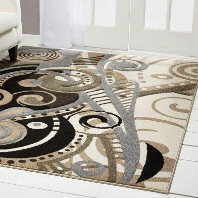 Home Dynamix Sumatra Alma Abstract Rectangular Rug
