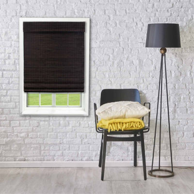 Radiance Cordless Bamboo Privacy Weave Roman Shade