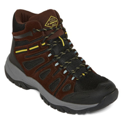 St. John's Bay Mens Coats Hiking Flat Heel Lace-up Boots