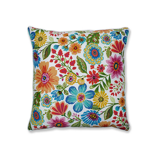 Pillow Perfect Gregoire Prima 25-Inch Outdoor Floor Pillow