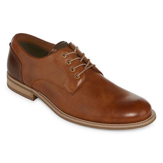 d44b1456951f4 JF J.Ferrar Mens Kent Oxford Shoes Lace-up, Color: Tan - JCPenney