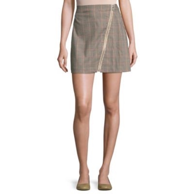 Arizona Womens Short A-Line Skirt-Juniors