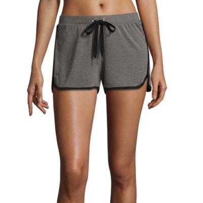 Flirtitude Juniors Drawstring Pajama Shorts