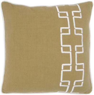 Rizzy Home Gunner Geometric Decorative Pillow