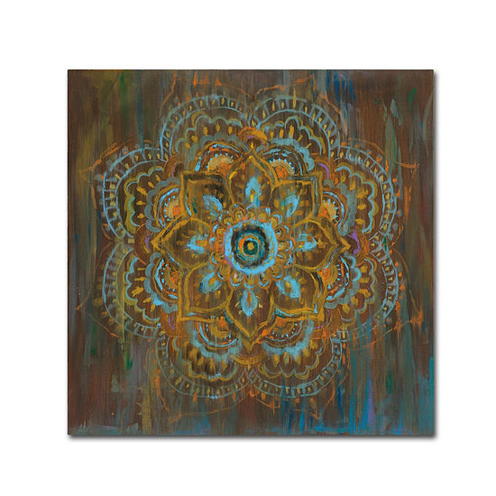 Trademark Fine Art Danhui Nai Bombay Bohemian Giclee Canvas Art