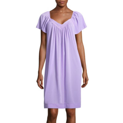 Lissome Lounge Tricot Sleeveless Sweetheart Neck Nightgown