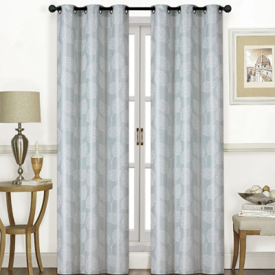 Thatcher 2-Pack Grommet-Top Curtain Panel