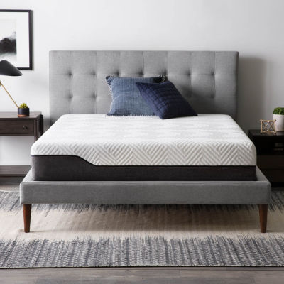 Lucid 10 in. Bamboo Charcoal and Aloe Vera Hybrid Mattress