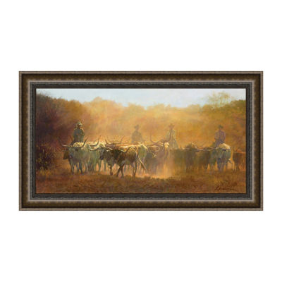 Bright and Early Framed Canvas Art