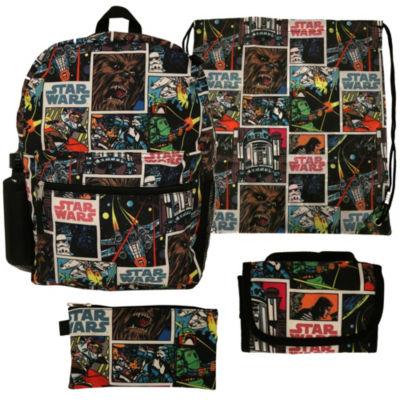 Starwars 5PC Backpack Set- Boys