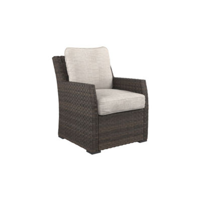 Outdoor by Ashley® Salceda Patio Lounge Chair with Cushion
