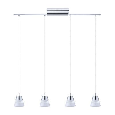 Eglo Pancento LED 5 inch Chrome Multi Light Pendant Ceiling Light