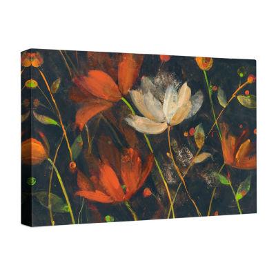 Moonlit Garden Spice Canvas Art