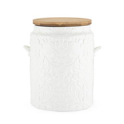 Pantry: Textured Ceramic Cookie Jar By Twine®