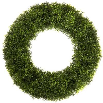 Pure Garden 20 In. Grass Wreath