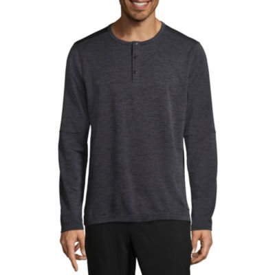 Msx By Michael Strahan Long Sleeve Henley Shirt