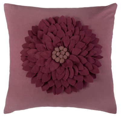 Rizzy Home Dante Floral Decorative Pillow