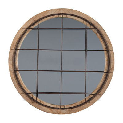 Signature Design by Ashley® Eland Round Wall Mirror