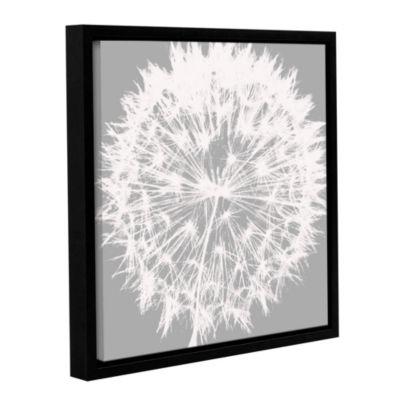 Dandelion 7 Floater-Framed Gallery Wrapped Canvas