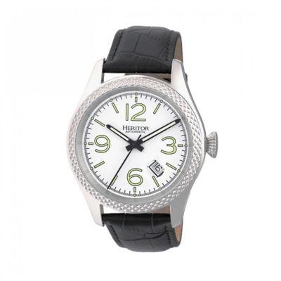 Heritor Unisex Black Strap Watch-Herhr7101