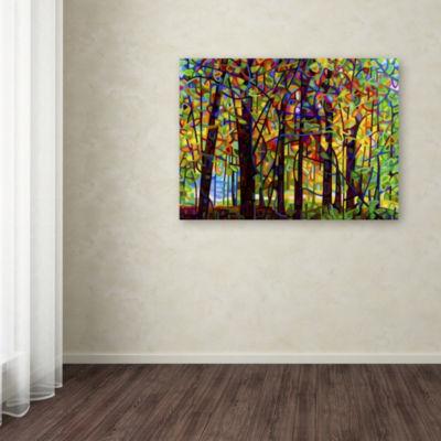 Trademark Fine Art Mandy Budan Standing Room OnlyGiclee Canvas Art