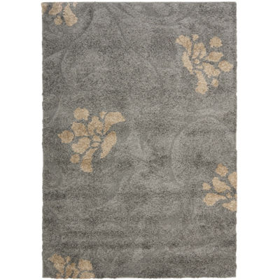 Safavieh Shag Collection Brock Floral Area Rug