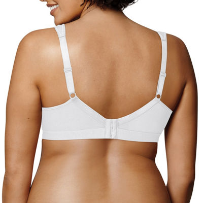 Playtex 18 Hour Cotton Stretch Ultimate Lift & Support Wireless Full Coverage Bra-Us474c