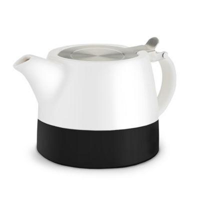 Harper Chalkboard Dipped Ceramic Teapot & InfuserBy Pinky U