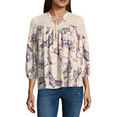 65186ee57901c2 89th   Madison Sleeveless Peasant Top - JCPenney
