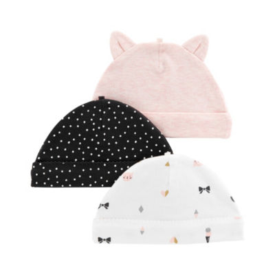 Carter's Little Baby Basics Unisex 3-pc. Hat