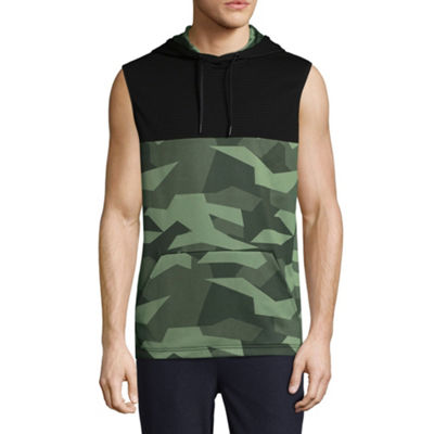 MSX By Michael Strahan Mens Sleeveless Hoodie