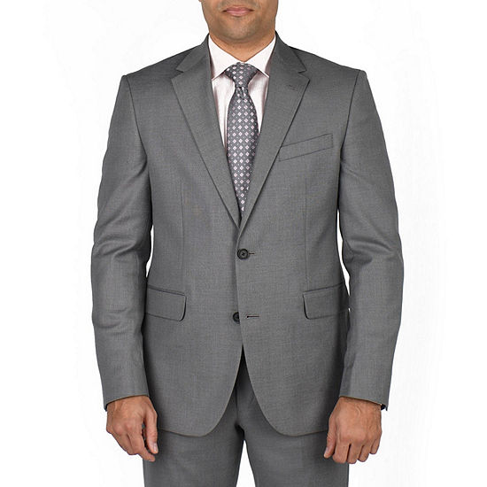 Dockers Gray Classic Fit Stretch Suit Jacket