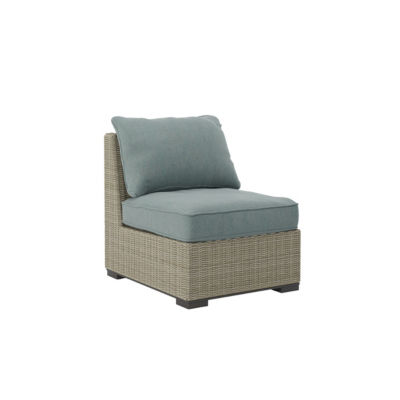 Outdoor by Ashley® Silent Brook Armless Patio Chair with Cushion