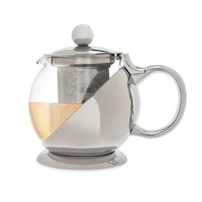 Shelby Stainless Steel Wrapped Teapot & Infuser ByPinky Up