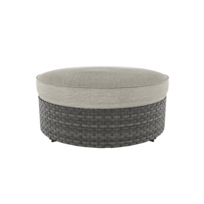 Outdoor by Ashley® Spring Dew Patio Ottoman with Cushion