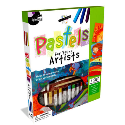 Spicebox Petit Picasso Pastels Art Kit