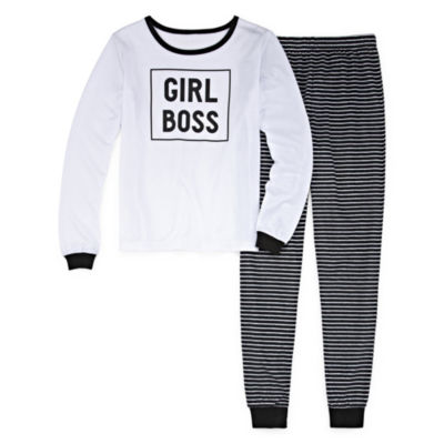 Sleepy Nites Boss 2 Piece Pajama Set - Girl's