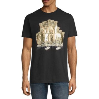 Parish Short Sleeve Geometric Graphic T-Shirt