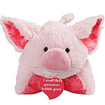 Pillow Pets Sweet Scented Bubble Gum Piggy Stuffed Animal Plush Toy