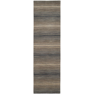 Safavieh Himalaya Collection Chelsey Striped Runner Rug