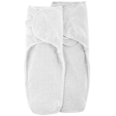 Carter's 2 Pack Babysoft Easy Swaddle - Unisex