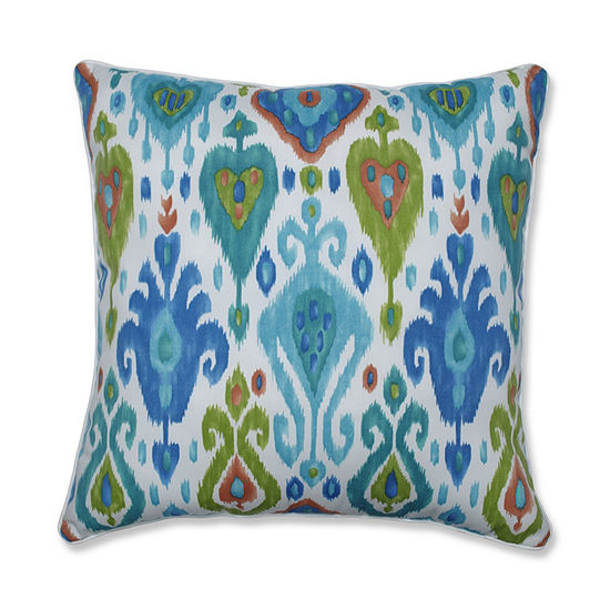 Pillow Perfect Paso Caribe 25-Inch Outdoor Floor Pillow