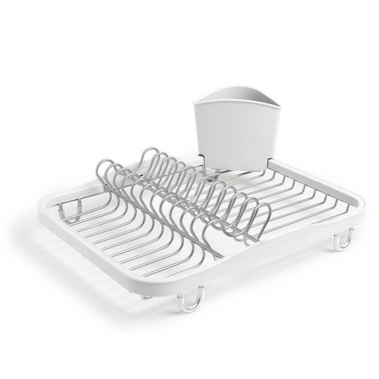Umbra White Nickel Dish Rack