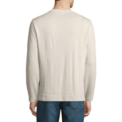 Claiborne Long Sleeve V Neck T-Shirt