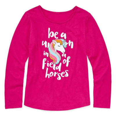 Arizona Long Sleeve Graphic Tee - Girls' 4-16 & Plus
