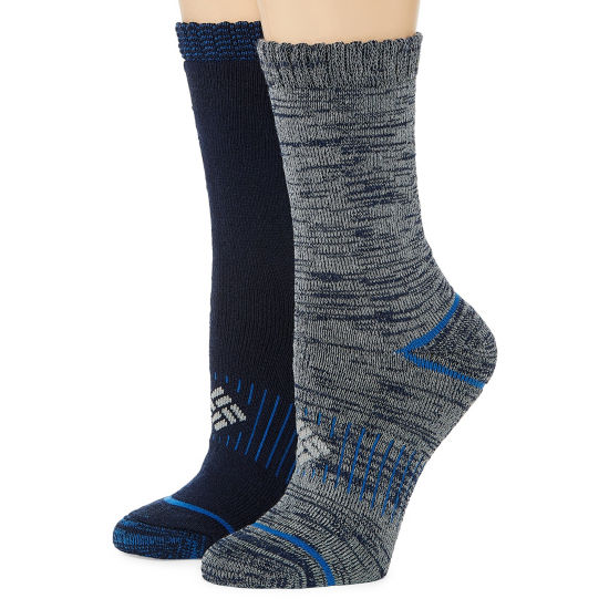 Columbia 2 Pair Crew Socks