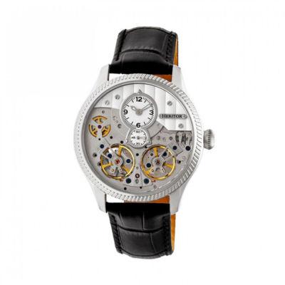 Heritor Unisex Black Strap Watch-Herhr7301